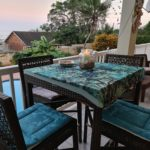 Bar Table Patio with sea view